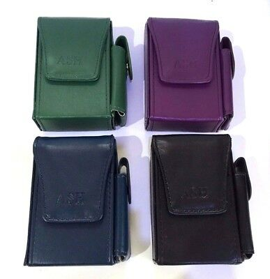 Super King Cigarette Pouch And Lighter Holder Effect Blue Purple Green And Black • 7.20£