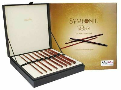 KnitPro Symfonie Rose Crochet Hook Set • 65.25£