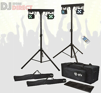 £65 • Buy ADJ COLOUR Changing LED Speaker Stand With Integrated LED Lights Remote Control