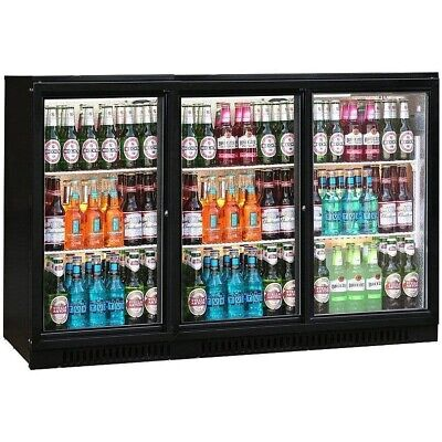 View Details Commercial Triple 3 Door Bar Bottle Display Cooler Fridge Beer Wine • 519.00£