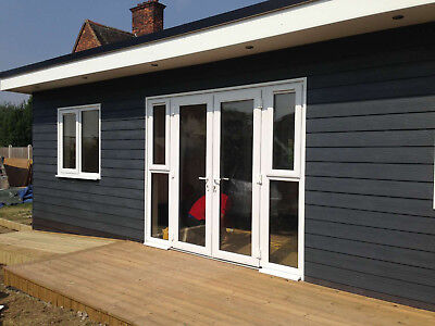 £718.21 • Buy UPVC Patio Doors / French / White / Back / Brand New / Nationwide Delivery / NEW