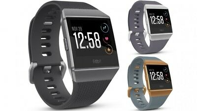 AU399.99 • Buy New Fitbit Ionic Fitness Watch Water Resistance/Bluetooth/GPS/HR/Apps/NFC Chip