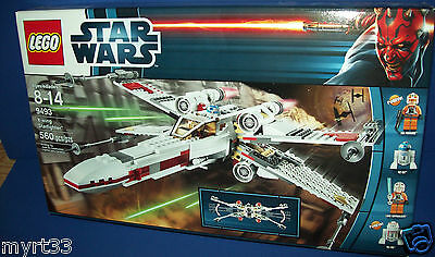 £177.46 • Buy LEGO 9493 STAR WARS - X-WING STARFIGHTER Retired NEW In BOX Sealed