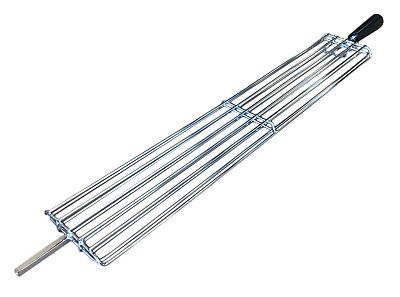 £28.99 • Buy Stainless Steel Cypriot BBQ Rotisserie Basket Clamp - Small