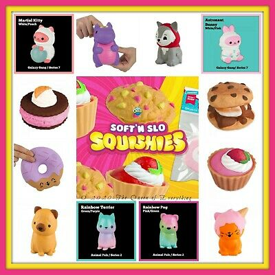 AU19.31 • Buy ORB Soft 'n Slo Squishies Sweet Shop Animal Pals Fan Faves--U Pick! Many Retired
