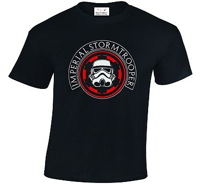 Star Wars Inspired Imperial Storm Trooper T-Shirt Darth Vader Tshirt  • 8.99£
