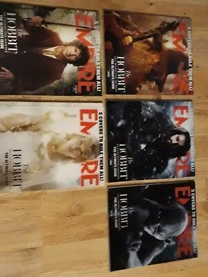 The Hobbit : An Unexpected Journey Empire Full Magazine Collection Holo Covered • 170£