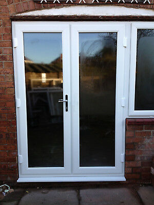 £559.78 • Buy White UPVC French Doors / Patio / Door / Back / White / FREE Delivery / UK MADE