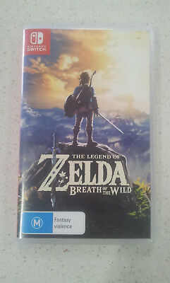 AU99.99 • Buy The Legend Of Zelda Breath Of The Wild Switch Game (NEW)
