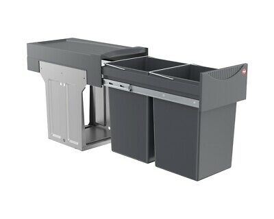 Hailo Tandem 30 L Pull Out Waste Bin For 300mm Hinged Door Kitchen Units 2x 15 L • 64.95£