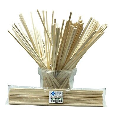 £2.99 • Buy 11 Inch Candy Floss Wood Sticks In 5 Pack Sizes BUY 2 GET 1 Free