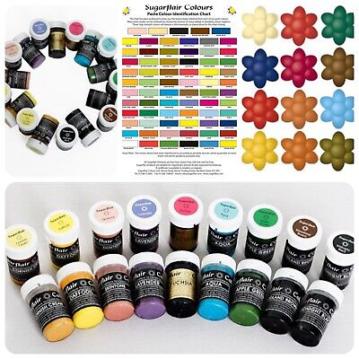 £4.29 • Buy 25g Sugarflair Concentrated Colouring Buy 3 Get 2 FREE-Including Paint Colours