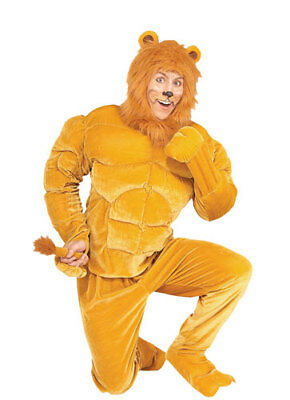 $54.95 • Buy Macho Lion Halloween Costume For Adults