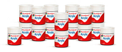 £2.35 • Buy Humbrol Acrylic Paints 12ml - Choice Of Colours - For Models & Model Kits