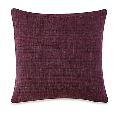 Anthology Kylie Square Throw Pillow Purple, Preowned Great Condition • 5.99£