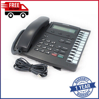 £14 • Buy Samsung KPDCS-12B LCD 12 Button Display Telephone Without Hook Switch