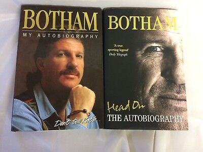 Ian Botham Books X2 Head On The Autobiography & Don't Tell Kath My Autobiography • 7.99£