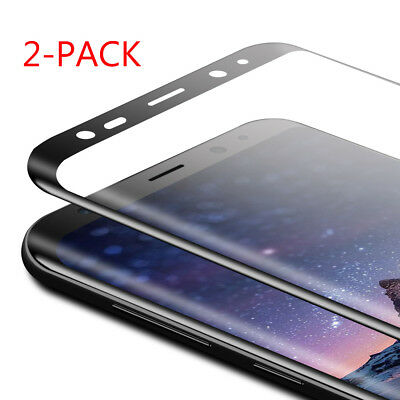 $ CDN4.01 • Buy  Full Tempered Glass Screen Protector Protective Film For Samsung Galaxy S8 Plus