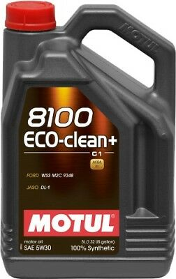 $ CDN129.99 • Buy Motul 8100 Eco-clean+ 5w-30 100% Synthetic Engine Oil 5l
