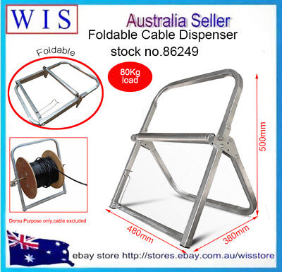 RG6 Cable Caddy,Foldable Cable Reel Holder,Telstra NBN Wire Reel Caddy Foldable  • 30.27£
