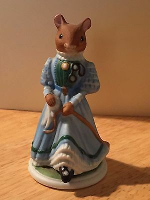 1985 Woodmouse Family Figurine Winsome • 14$
