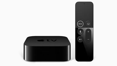 AU225.04 • Buy Apple TV 4K 32GB HDR 5th Generation Digital Media Streamer MQD22LL/A