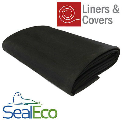 SealEco Greenseal EPDM Rubber Fish Pond Liner | Thick, Heavy Duty | Many Sizes • 30.15£