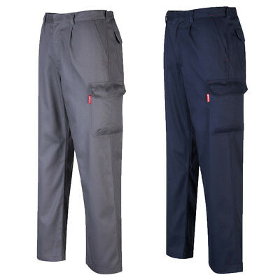 £24.89 • Buy Portwest Bizweld Cargo Pant Welding ARC Flame Resistant Trousers BZ31