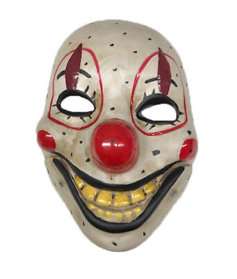£7.99 • Buy Smiling Clown Moving Mouth Mask Scary Horror  Halloween Circus Fancy Dress Smile