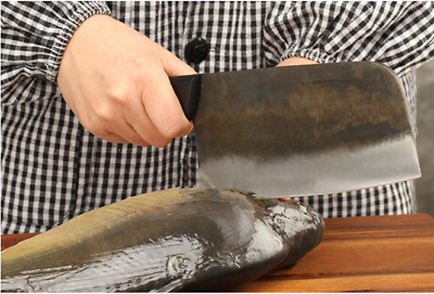 $ CDN79.53 • Buy Black Handmade Forged Knife Carbon Steel Chinese Cleaver Chef Knives Kitchen Cut