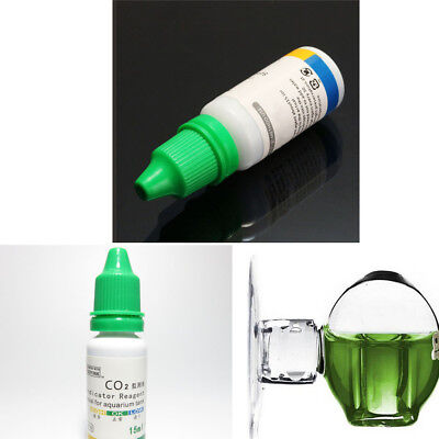 $1.99 • Buy PH Indicator Aquarium Carbon Dioxide CO2 Drop Monitor Glass Ball Checker Tester