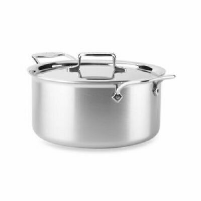 $ CDN249.95 • Buy All-Clad BD55508 D5 Brushed 5-Ply Dishwasher Safe 8-qt Stock Pot With Lid
