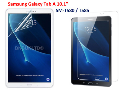 Ultra Clear Screen Protector Guard For Samsung Galaxy Tab A 10.1  SM-T580 /T585 • 1.97£