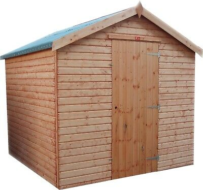 Garden Shed (TOP QUALITY) Apex Wooden Garden Store Fully T&G Outdoor Tool Hut  • 649.26£