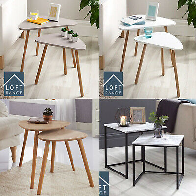 Brand New Coffe  Side Table , Set Of 2 Tables. & Single Coffe Side Table • 20.99£