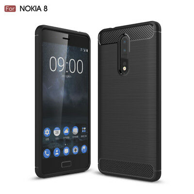 AU7.99 • Buy Nokia 8 Case Slim Armor Shockproof TPU Brushed Heavy Duty Cover Nokia 7.2 7.1 P