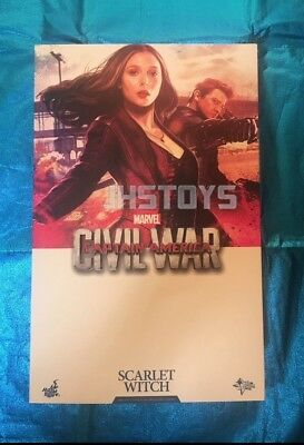 $ CDN1149.15 • Buy New Hot Toys 1/6 Captain America Civil War Scarlet Witch MMS370 Japan