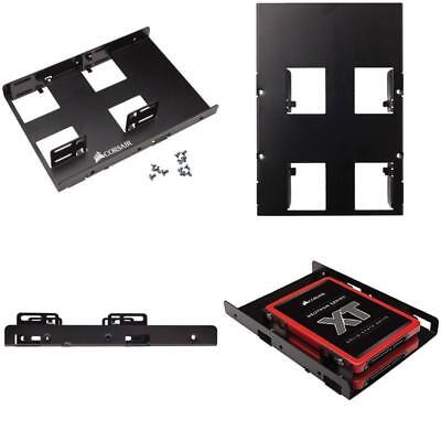 AU16.42 • Buy 2.5 To 3.5  Mounting Adapter Bracket SSD Dual Dock Solid State Drive Holder Tray