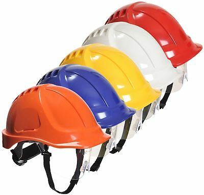Portwest Endurance Plus Visor Helmet Safety Hard Hat PW54 • 11.15£