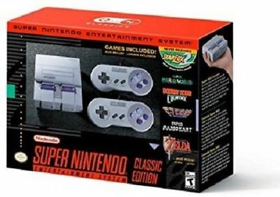 $ CDN158.24 • Buy Super Nintendo Entertainment System SNES Classic Edition Mini IN HAND SHIPS NOW