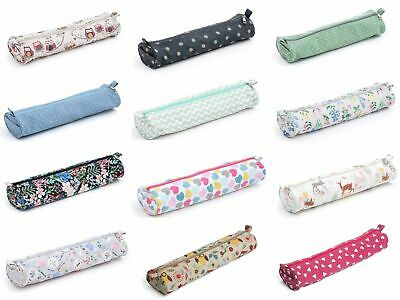 Knitting Needle / Pin Bag Storage Case By Hobby Gift - All Designs - 40cm Long • 6.45£
