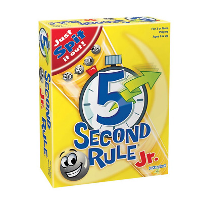 AU25.95 • Buy 5 Second Rule Junior Board Game NEW
