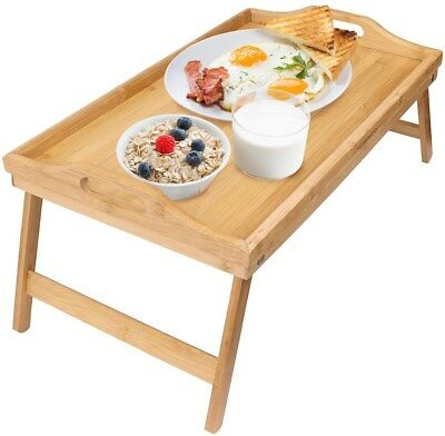 $19.99 • Buy Greenco Bamboo Foldable Breakfast Table, Laptop Desk, Bed Table, Serving Tray
