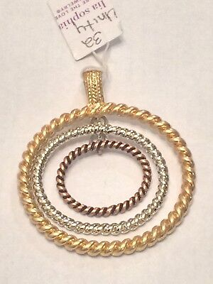 $ CDN12.54 • Buy Lia Sophia Unity Pendant Slide - New With Tags
