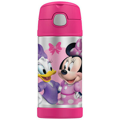 AU28.95 • Buy THERMOS Funtainer 355ml Vacuum Insulated Beverage Bottle Disney Minnie Mouse!