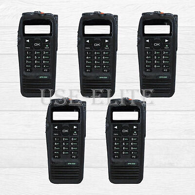 5x Replacement Housing For MOTOROLA XPR6550 With OEM Speaker Handheld • 165$