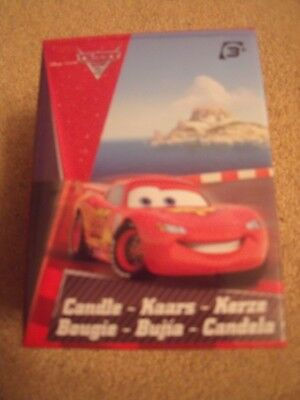 BNIP Disney Pixar - LED Candle / Night Light - Cars -Battery Operated • 6.99£