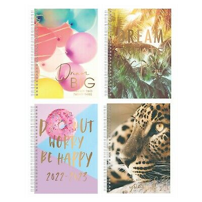 2020-2021 A5 Academic Diary Mid Year Week To View Student Hardback Spiral • 3.39£
