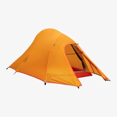 AU259 • Buy NEW 2 Man Person Tent Waterproof Hiking Travel Snow Winter 4 Season Double Layer