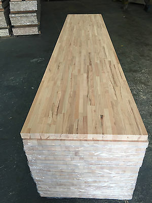 Solid Beech Wood Worktops 3m X 620mm X 40mm Super Bargain £134 Only! Clearance • 134£